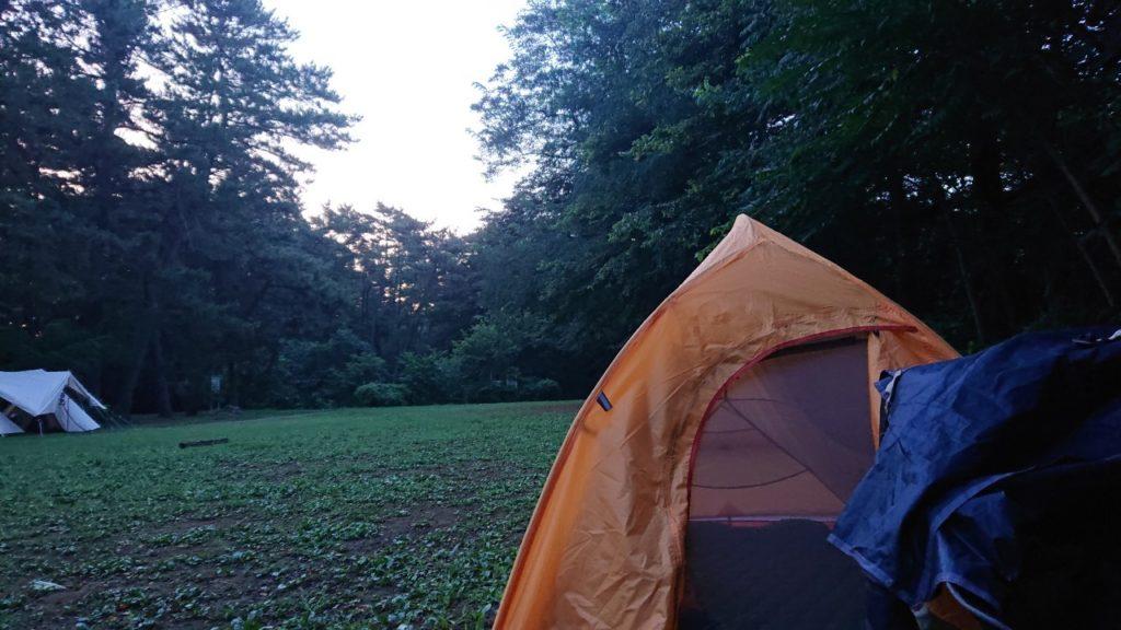 角淵公園キャンプ場