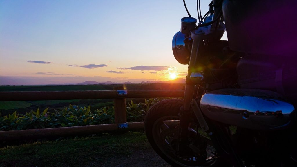 開陽台 夕陽