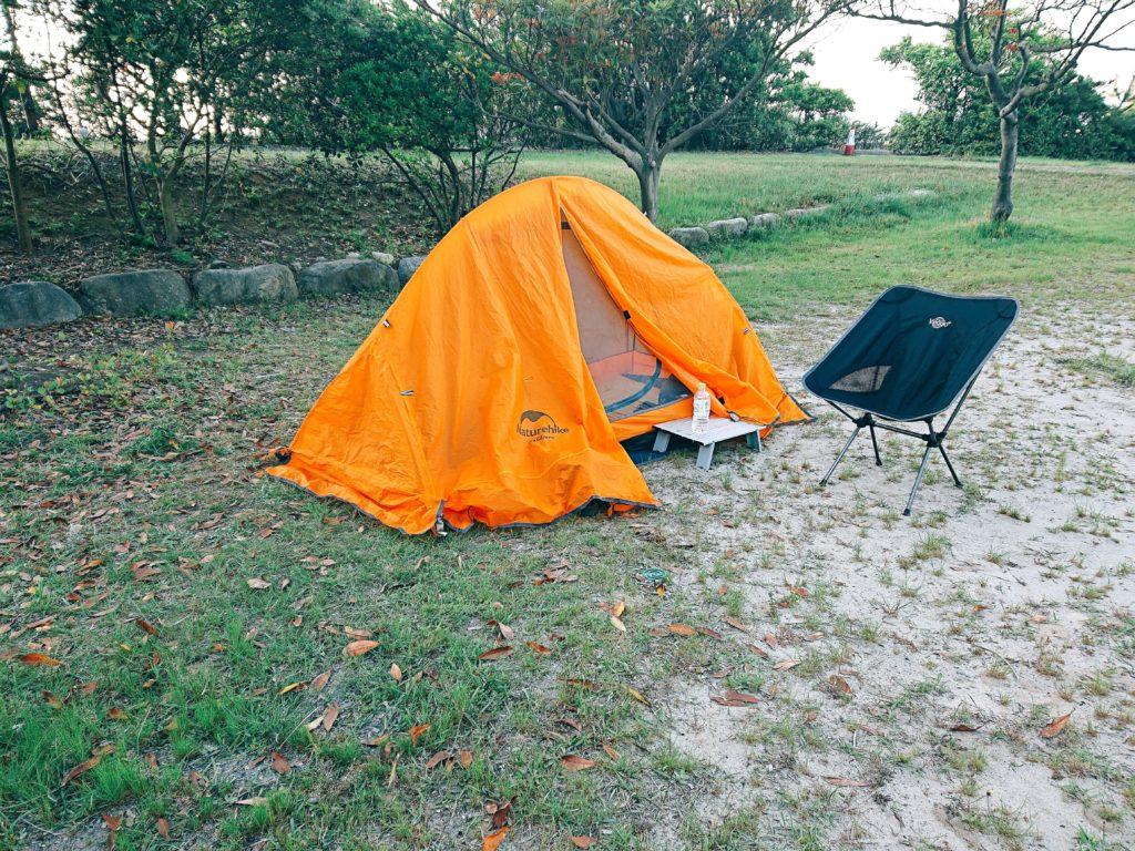 石見海浜公園キャンプ場