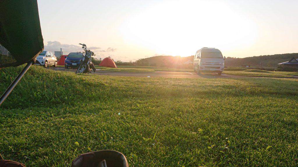 宗谷ふれあい公園キャンプ場
