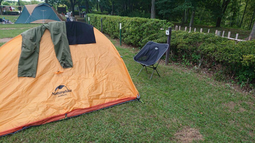 坂田ケ池総合公園キャンプ場
